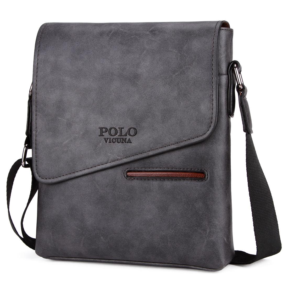 87b5a4b02918 Мужская сумка Polo Vicuna серая (8824-GR) - BuyClub - магазин ...
